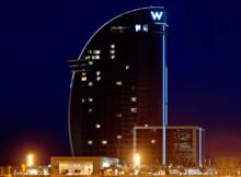 Iluminación exterior de Hoteles con tecnología LED