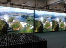 tipos de pantallas gigantes led