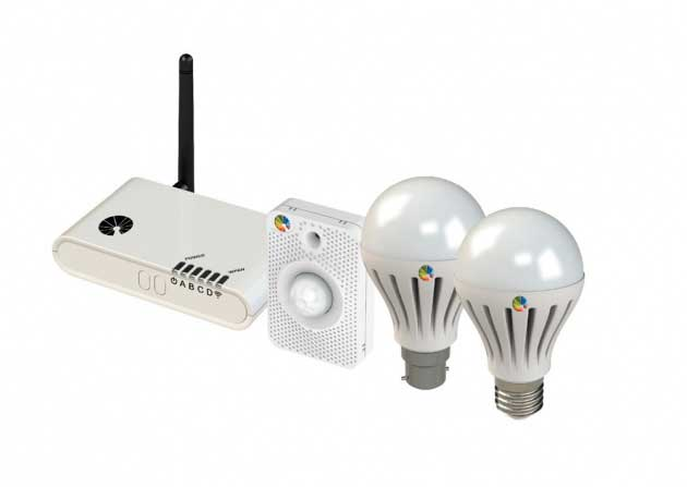Conectividad iluminacion led