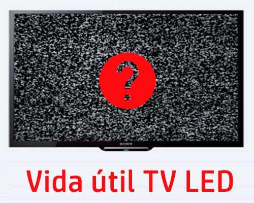 vida útil de TV LED