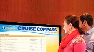señalización digital en cruceros