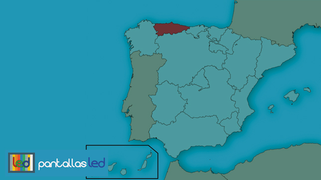 Pantallas LED en Asturias