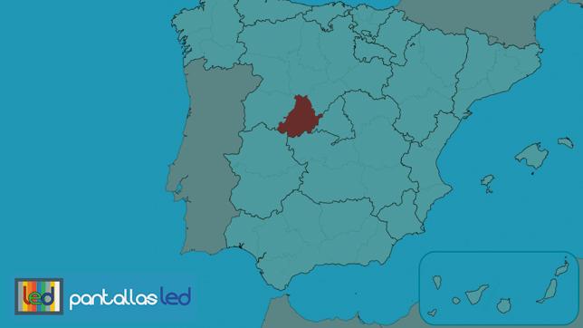 pantallas LED en Ávila