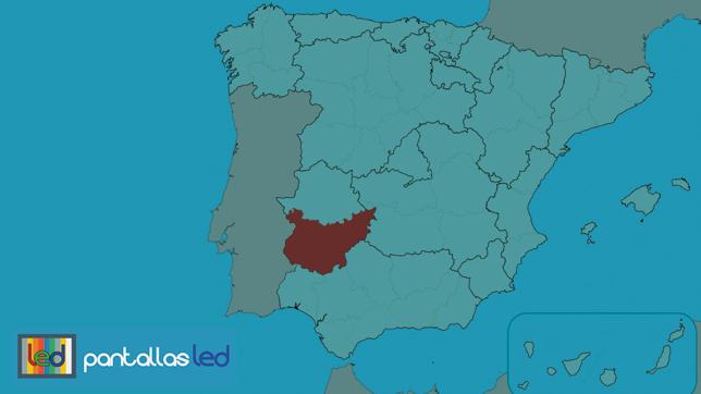 pantallas lLED en Badajoz