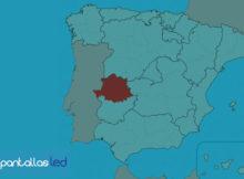 Pantallas LED en Cáceres