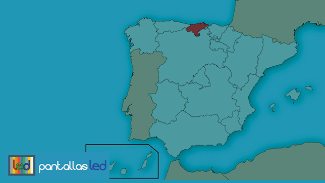 pantallas LED en Cantabria