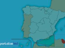 pantallas LED en Ceuta