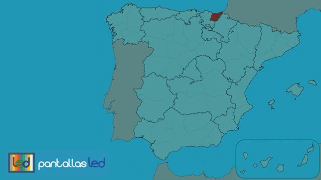 Pantallas LED en Guipúzcoa España
