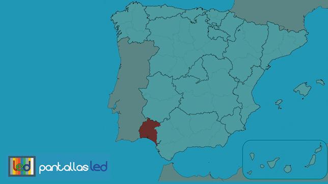 Pantallas LED en Huelva