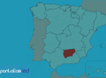 pantallas LED en Jaén
