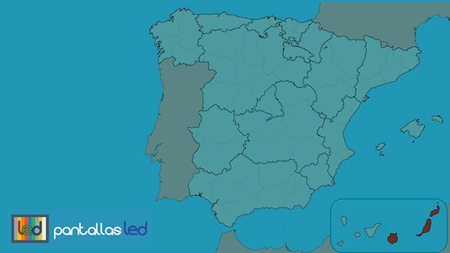 Pantallas LED en Las Palmas