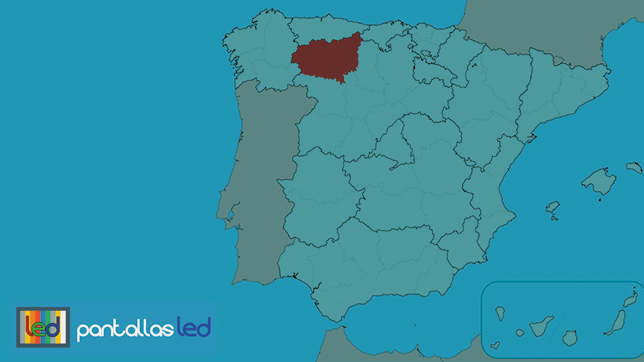 pantallas led en León