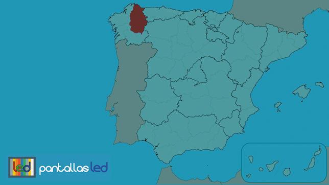 pantallas LED en Lugo