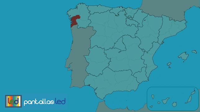 Pantallas LED en Pontevedra