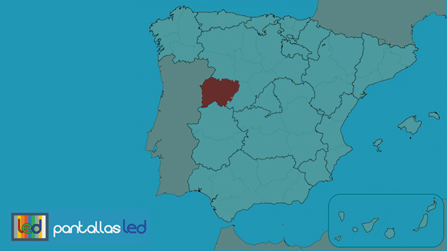 Pantallas LED en Salamanca