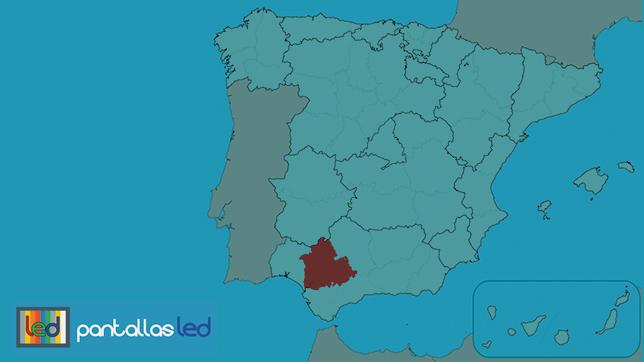 Pantallas LED en Sevilla