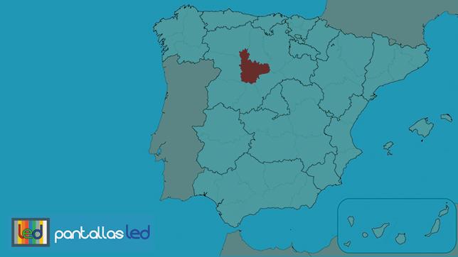 pantallas LED en Valladolid
