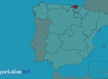 pantallas led en Vizcaya